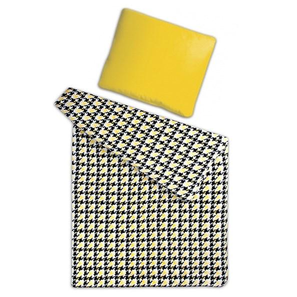 Mikroflanelové obliečky Kohútia stopa