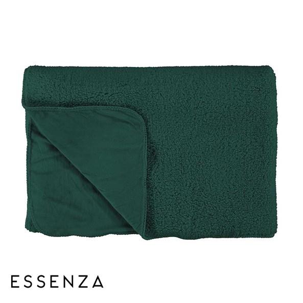 Essenza Home Lammy ágytakaró, zöld