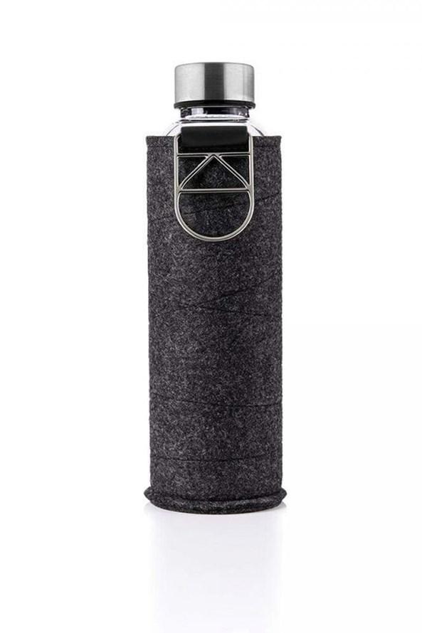 Sklenená fľaša s plsteným obalom EQUA 750 ml
