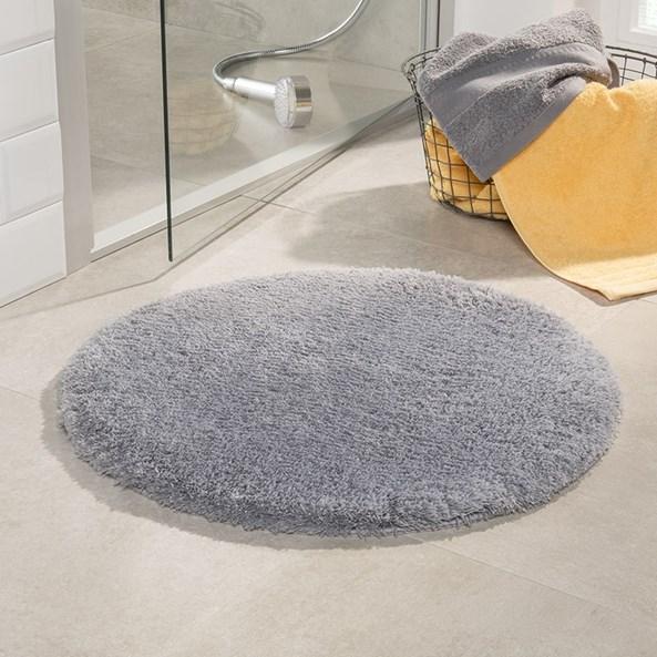 Dywanik łazienkowy Malmo szary