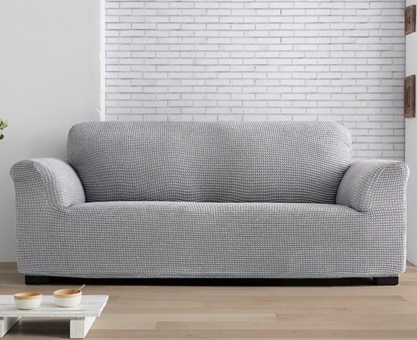 Milos kétszemélyes kanapéhuzat, világosszürke
