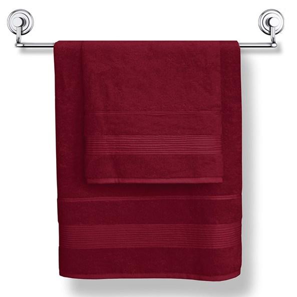Bambusový uterák Moreno vínový