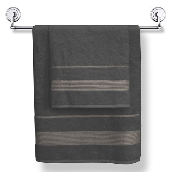 Bambusowy ręcznik moreno grafitowy