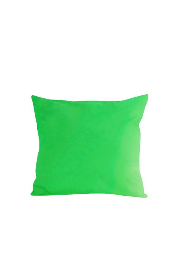 Kispárna huzat, zöld