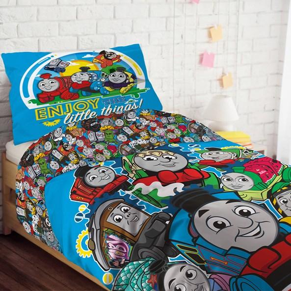 Lenjerie de pat pentru copii Thomas