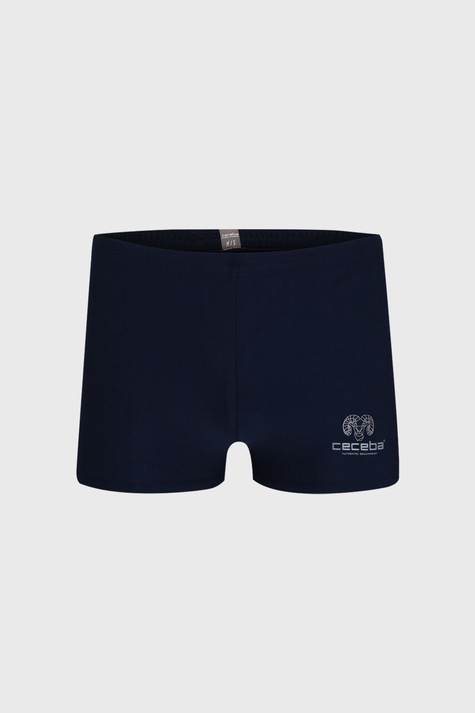Boxeri de baie barbatesti, albastru inchis imagine
