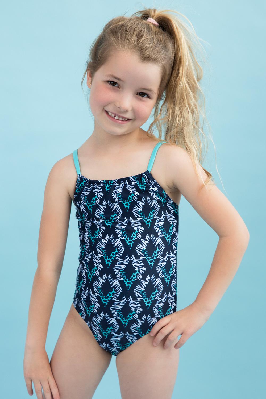 Costum de baie intreg Aqua, pentru fetite imagine