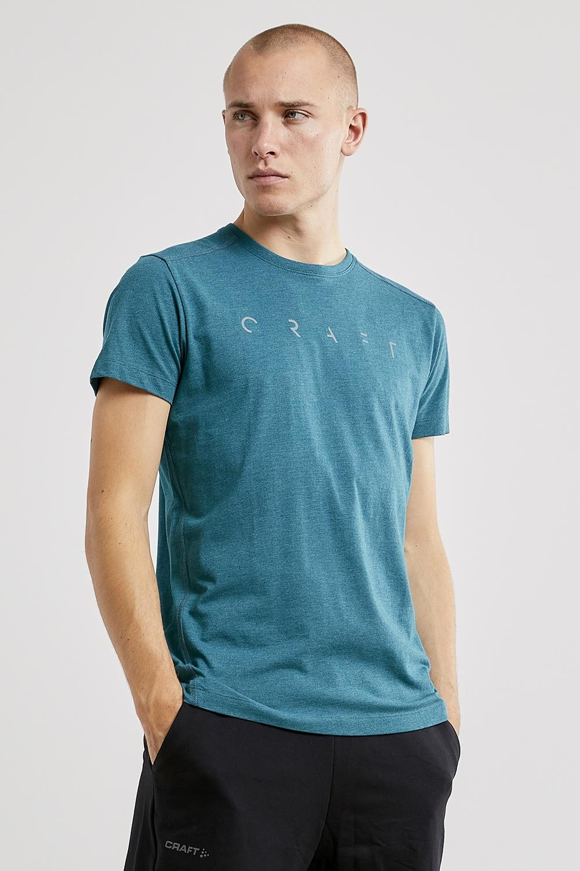 Tricou barbatesc CRAFT Deft SS, albastru inchis imagine