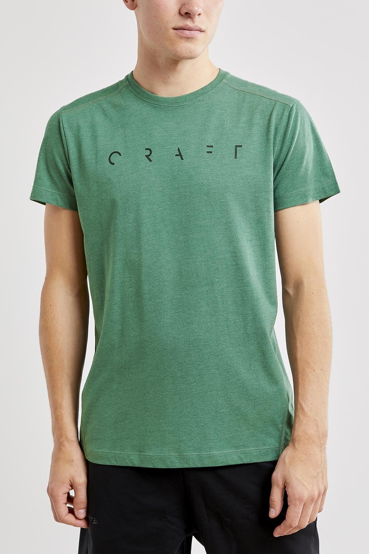 Tricou barbatesc CRAFT Deft SS, verde inchis imagine