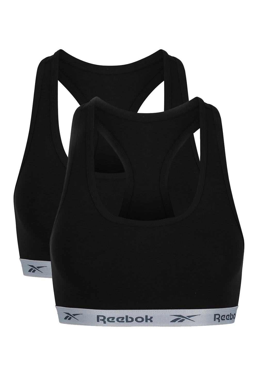 2 pack top Crop Reebook, negru