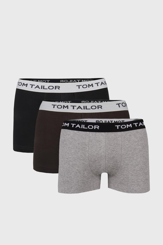 3 PACK boxeri Tom Tailor IV imagine