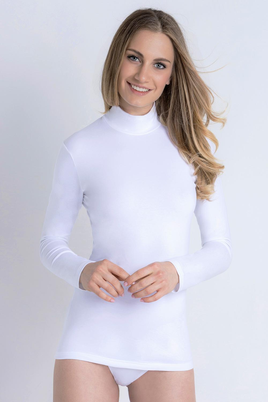 Bluza caluroasa Lisa, cu guler imagine