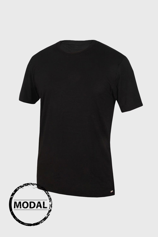Tricou barbatesc BLACKSPADE Silver, din micromodal imagine