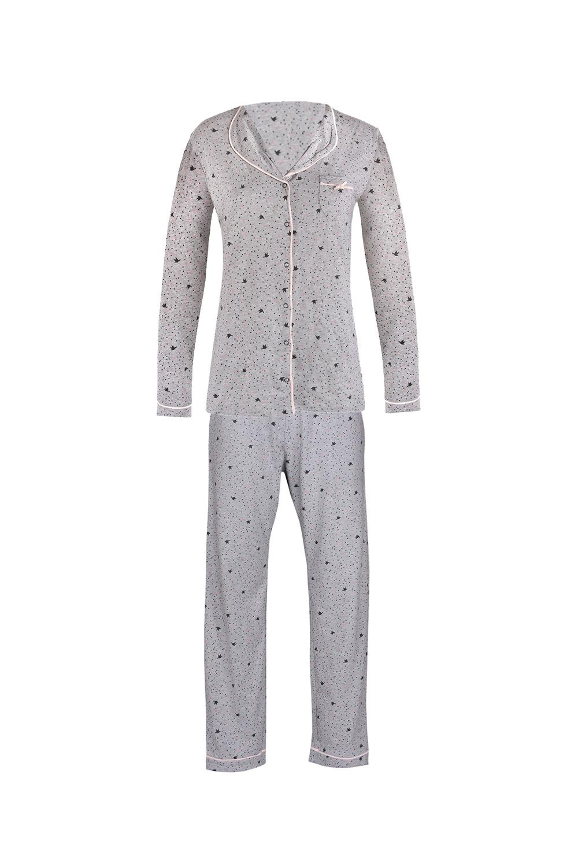 Pijama dama Pygt, gri