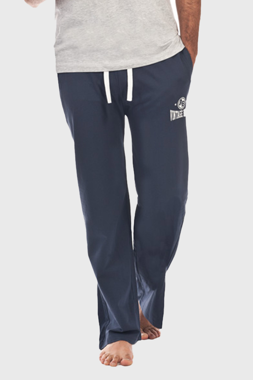 Pantalon de pijama barbatesc Perm, albastru