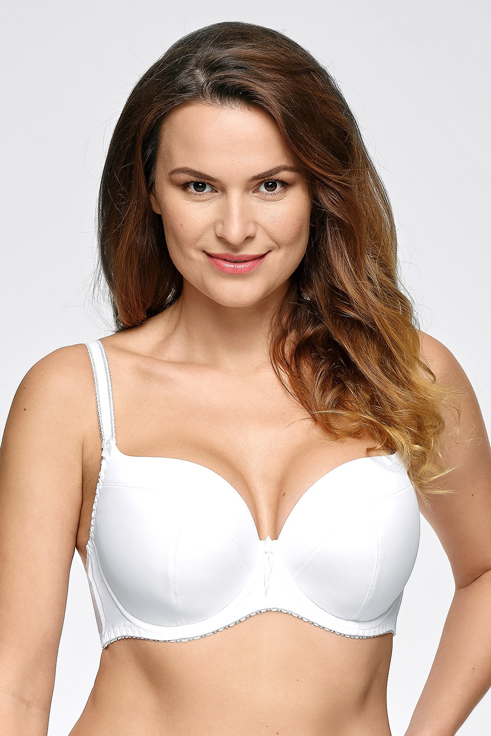 Sutien Monique White intarit