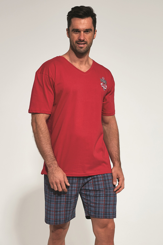 Pijama Anchor, rosu