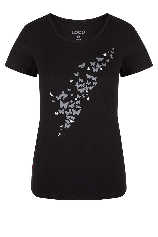 Tricou dama negru LOAP Adamia