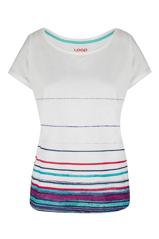 Tricou alb pentru femei LOAP Alby