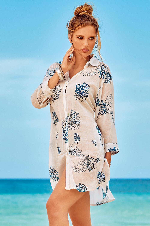 Rochie de plaja Madeira 01 David-Beachwear