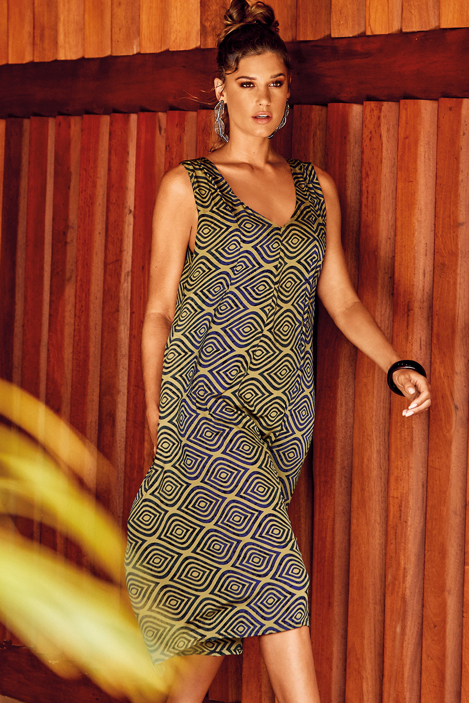 Rochie de plaja Formentera Retro Vibe David-Beachwear