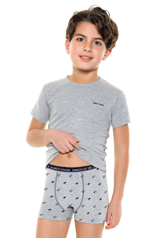 Set baieti , formati din boxeri si tricou E. Coveri 4087