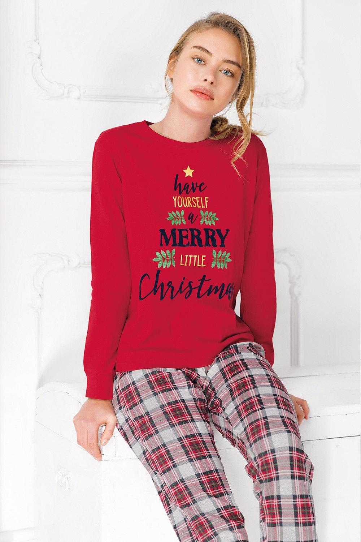 Pijama dama Merry Christmas