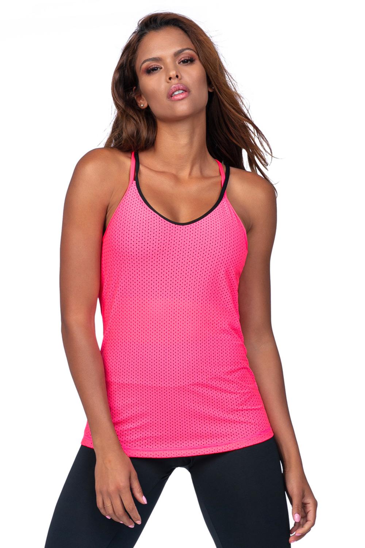 Maiou sport pentru femei, roz