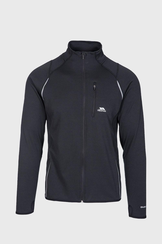 Bluza whiten, material functional, negru imagine