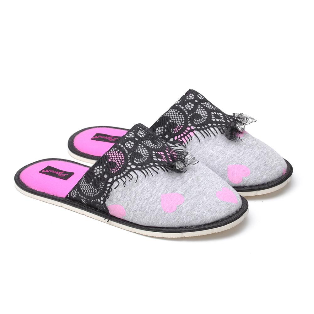 Papuci de casa Alice imagine