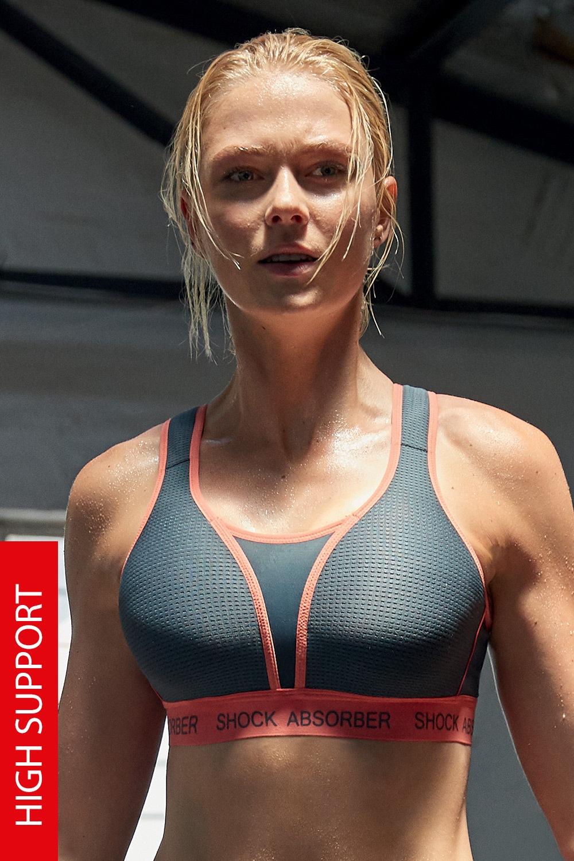 Sutien sport Shock Absorber Ultemate Run Bra Padded